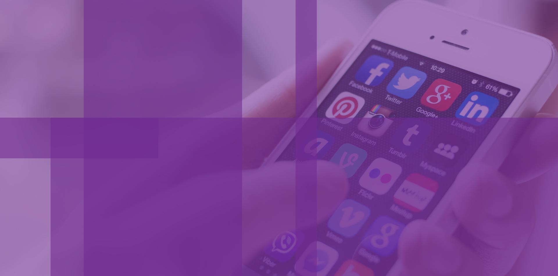 Social Plus Slider-Purple
