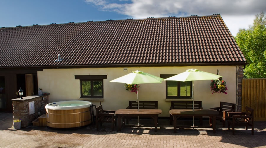 The Old Dairy Large Group Self Catering Holiday Cottage for Hire in Somerset