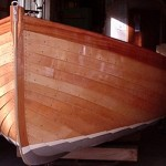 Marcus Lewis, Wooden Boatbuilder Cornwall - Fowey River dinghy