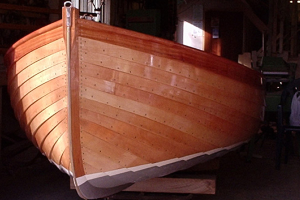 how to build a wood yacht
