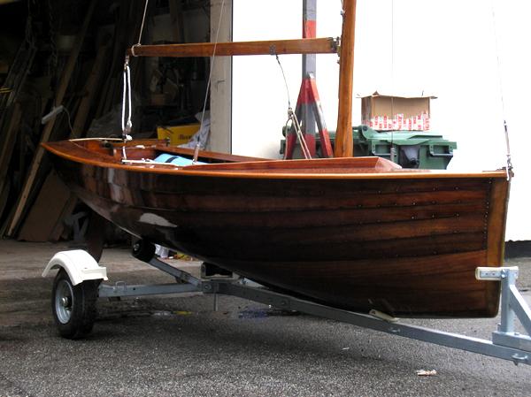Uffa Fox National 12 Rebuild Wooden Boat Builder